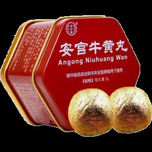 Viên cấp cứu người bị tai biến mạch máu não Angong Niuhuang Wan