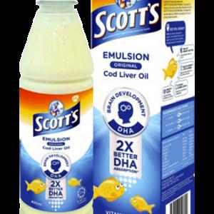 Dầu sữa Scott's Emulsion Original